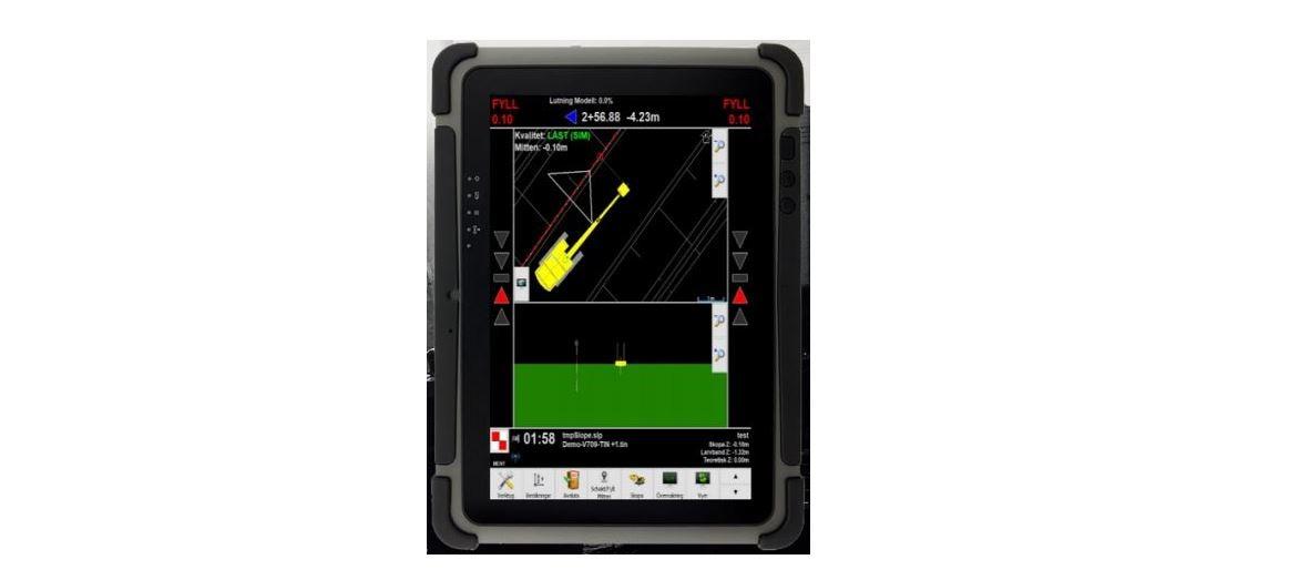 L5 Navigation Systems AB presenterar ett nytt 3D-system för grävmaskiner
