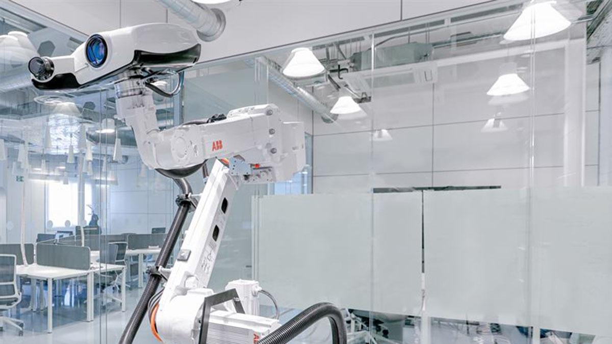 ABB preciserar byggandet med ny skanningteknik