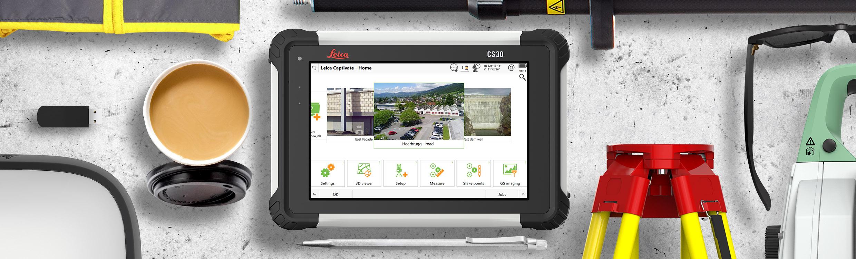 Leica lanserar CS30 – en ny kompakt handdator