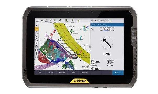 Trimble lanserar T100 – en ny handdator