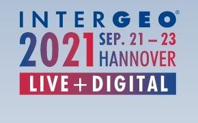 Intergeo 2021 genomförs 21-23 september på riktigt i Hannover samt digitalt
