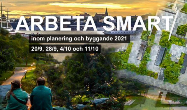 Konferens: Arbeta smart inom planering och byggande 2021